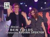 Regina Spektor ft Ben Folds - Jimmy Kimmel Live! - 13 november 2008