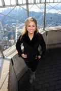 Shawn Johnson at the Empire State Building 11/28/12