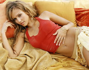 Jessica Alba sexy uncovered MAXIM photo